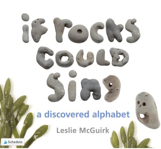 This alphabet book uses rocks found near the author's home.