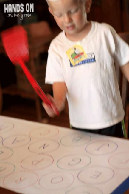 Find the Letter & Swat It! Get active with this silly preschool ABC game!