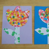 Spring Dot Flowers