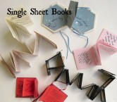 Single Sheet Books