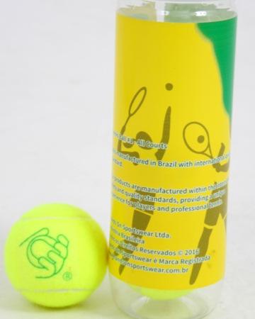 Tubo Bola Tennis possui alto padrão de qualidade
