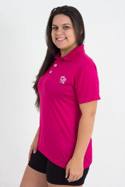 Camisa Esportiva Tennis Feminina Gola Polo é a peça ideal para praticantes de atividades físicas diversas em dias e/ou noites frias.