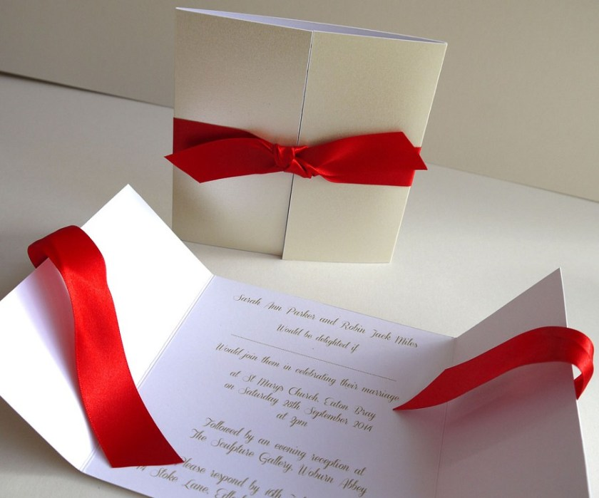 Diy Wedding Invitation Handspire