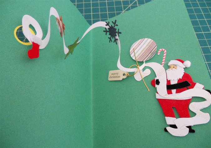 DIY Pop Up Christmas Card Handspire