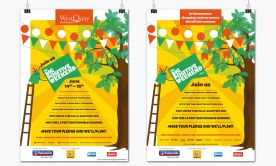 Poster artwork for Hammerson Big Positive Weekend