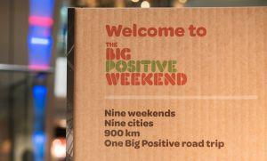 Big Positive Weekend Hammerson artwork