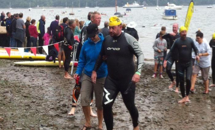 andre charity swim