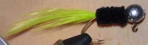 Stinger Handtied Jig Black Truss2
