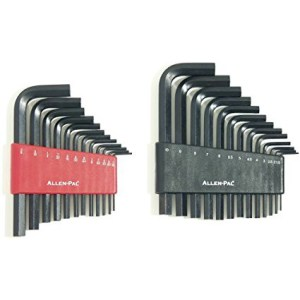Metric & SAE Short Arm Allen Wrench Set