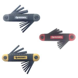 Husky Folding Hex Key Sets