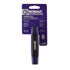 Kobalt Folding Security Star Wrench