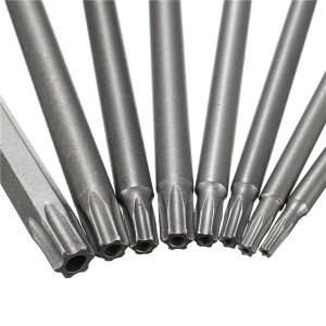 """6"""" Long Magnetic Torx Bits"""