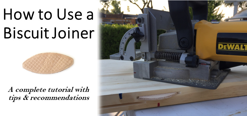 Biscuit Joiner Tutorial Tips & Recommendations