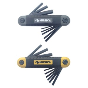 Husky Folding Hex Key Sets