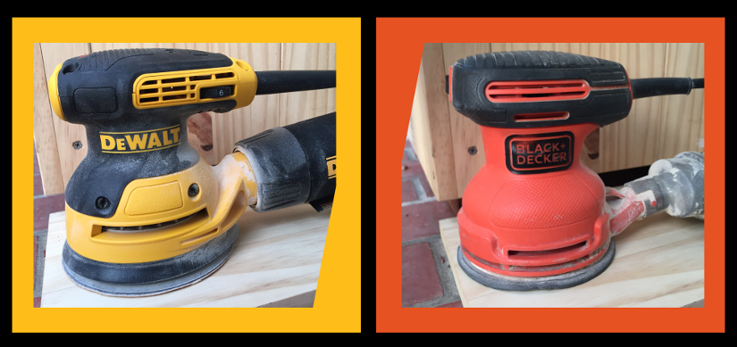 Compare Black + Decker vs Dewalt Random Orbit Sander