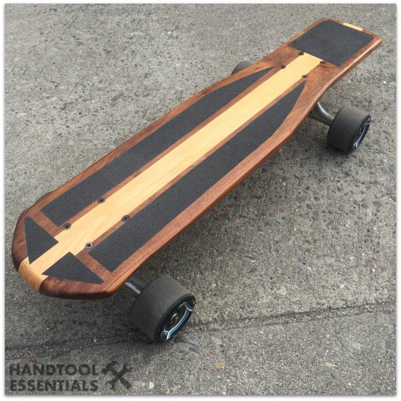 DIY Wooden Skateboard Walnut Birch