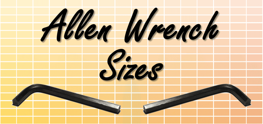 Allen Wrench Sizes Hex Keys Standard Tool Sets