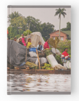 Congo raft taxi Hardcover Journals