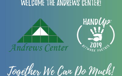 Welcome the Andrews Center to the Hand Up Network!