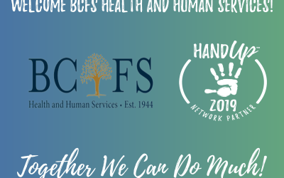 Welcome BCFS Health and Human Services as a new Network Partner!