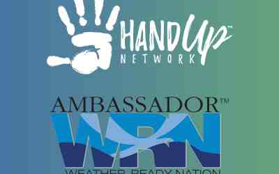 Hand Up Network Named a WRN Ambassador by NOAA