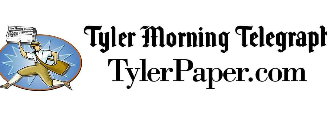 Tyler Morning Telegraph Front Page Article about the work of Hand Up Network