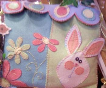 Felt Bunny Pouch - Easter ?!