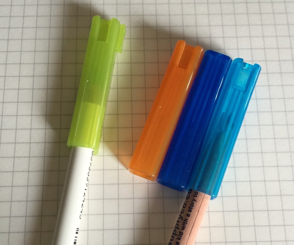 Tombow square pencil caps