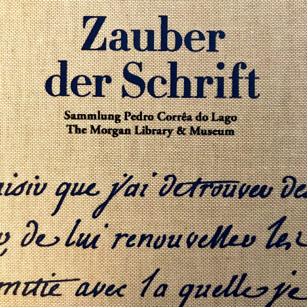 Zauber der Schrift - Sammlung Pedro Corrêa Do Lago