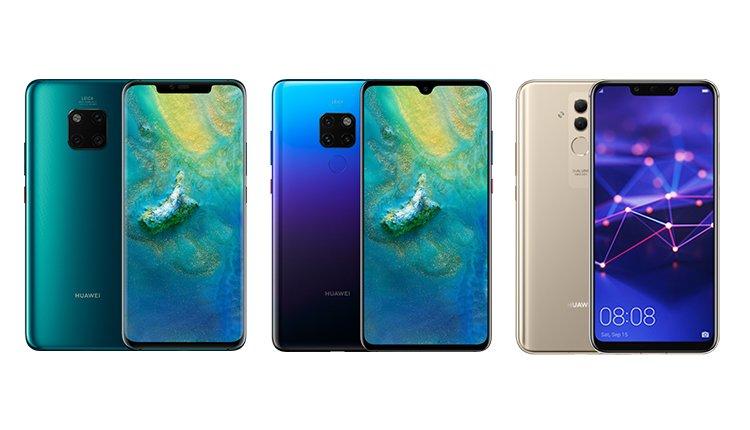 Grosser Vergleich Huawei Mate 20 Vs Mate 20 Pro Vs Mate 20 Lite Handy De