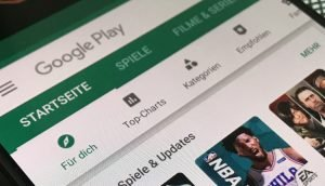 New Android apps in the Google Play Store