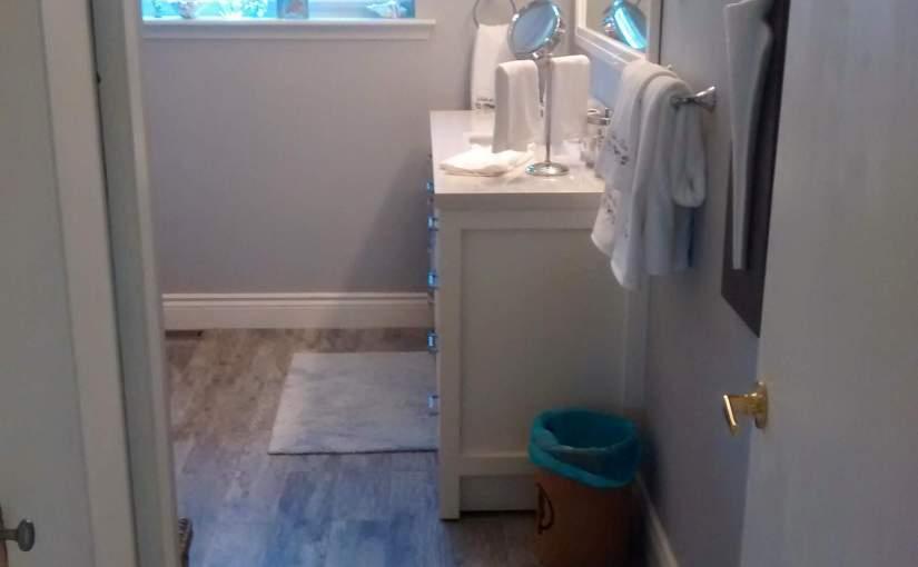 Image of a bathroom remodel