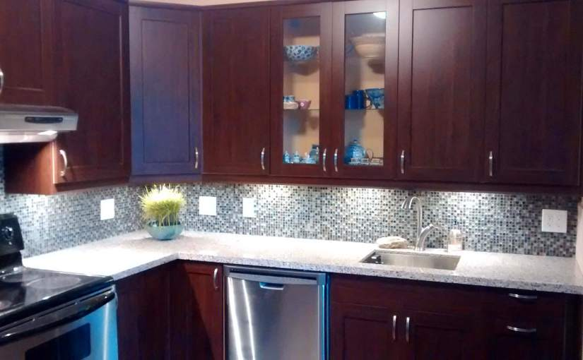 Image of a kitchen remodel