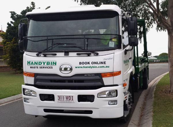 Skip Bin Hire - Handybin Truck