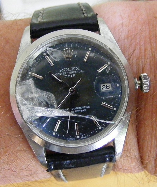 How To Replace A Broken Crystal On A Rolex Watch