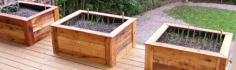 How to build raised beds in your garden out of old pallets ...