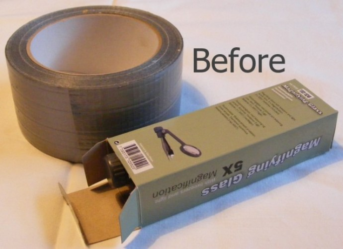 how to make a box last forever with duct tape