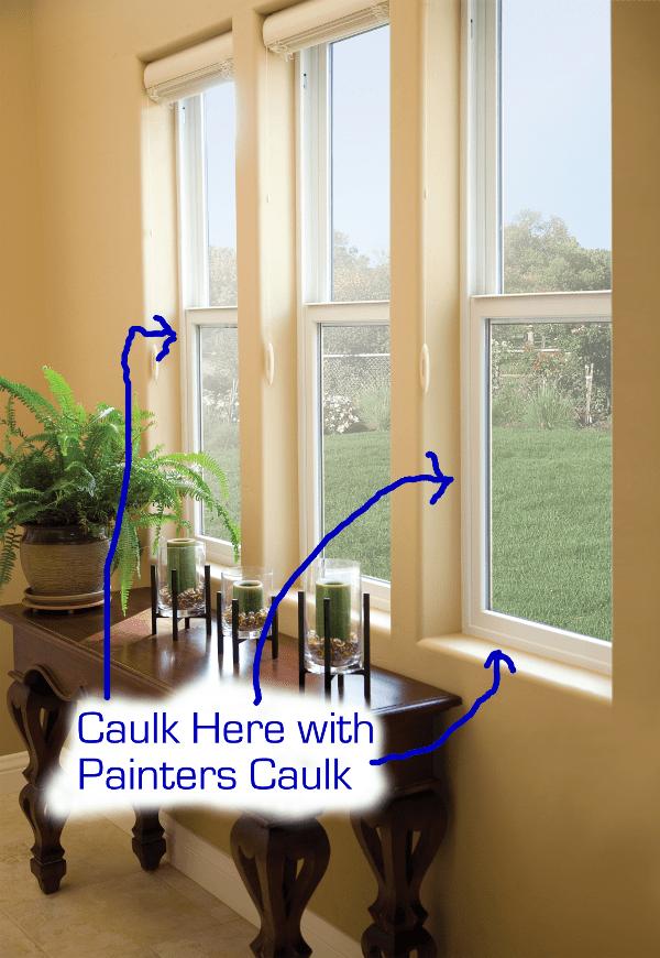 How To Caulk Windows And Where To Caulk Windows