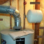 Replace water heater expansion tank