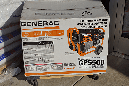 Large portable generator at True Value and do it yourself portable generator