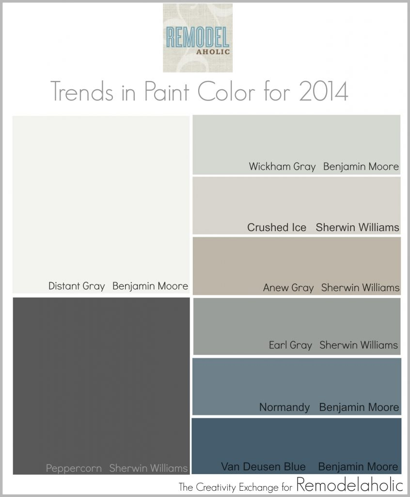 New Paint Colors for 2014