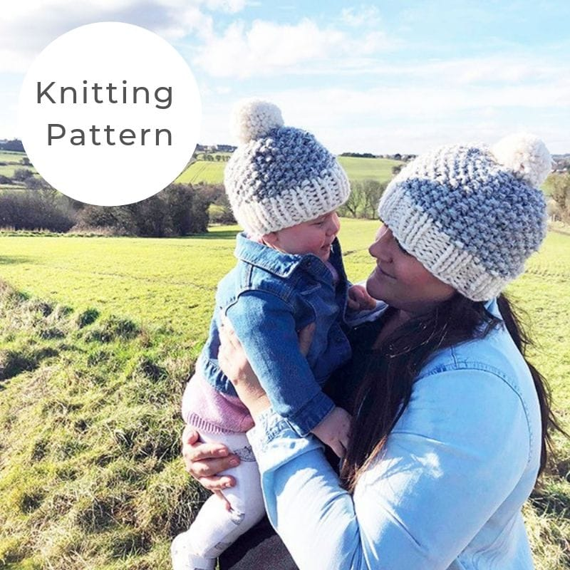 mommy and me hat patterns