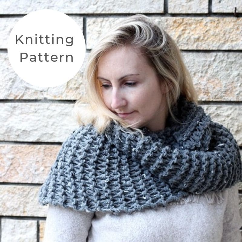 Brianna infinity scarf pattern