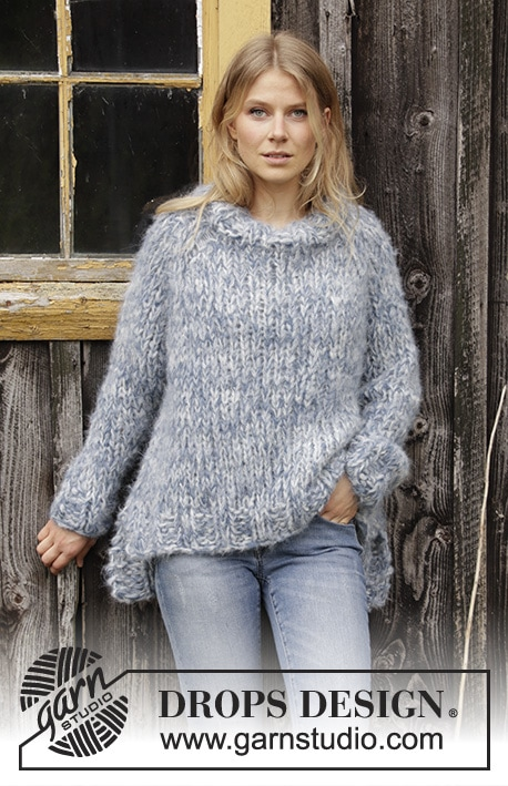Cloud Chasing / DROPS 194-15 - Free knitting patterns by DROPS Design