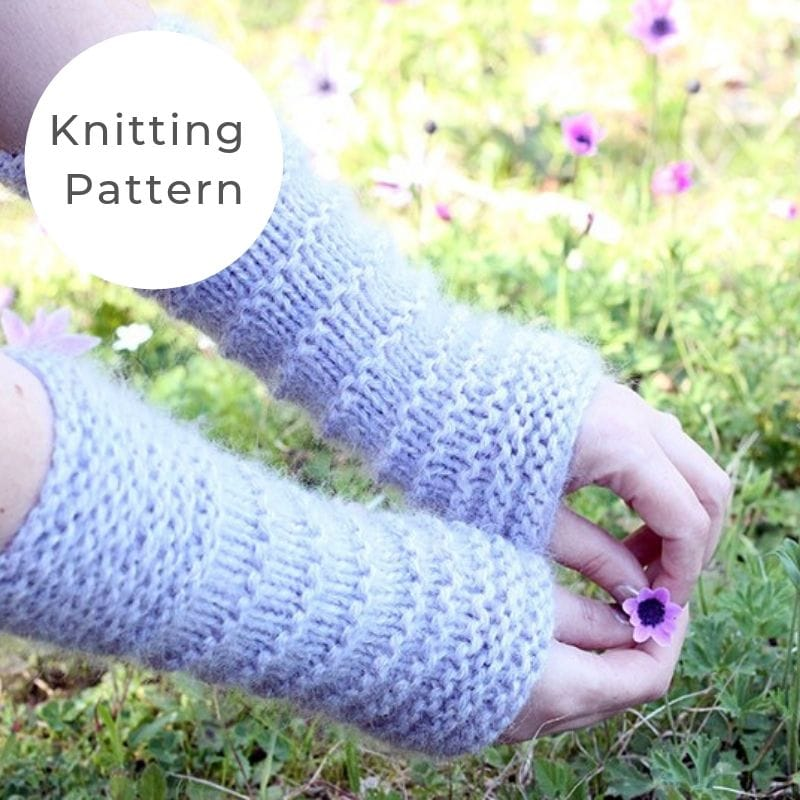 Easy arm warmers pattern