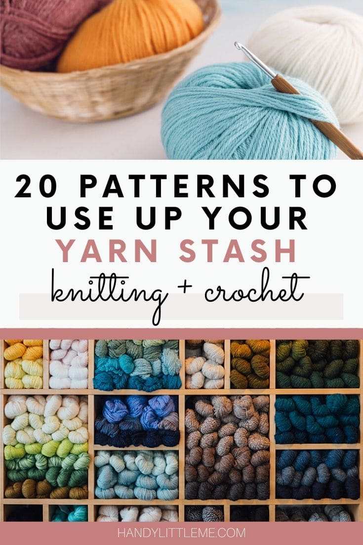 20 patterns to use up your yarn stash