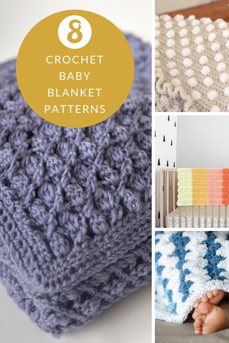 8 crochet baby blanket patterns