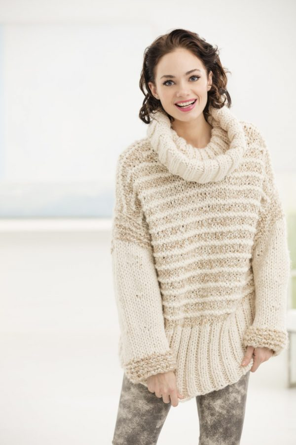 Knit-Cozy-Collared-Pullover