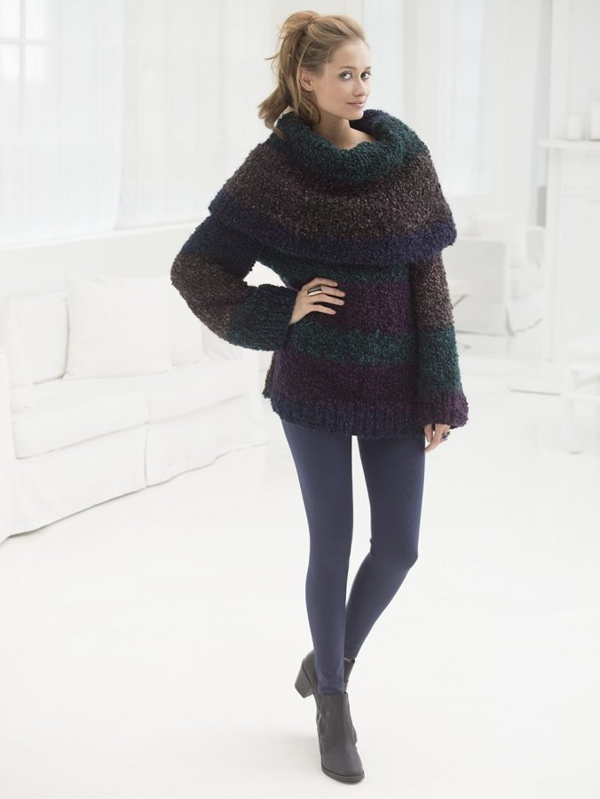 classic knits like this chuky fall sweater