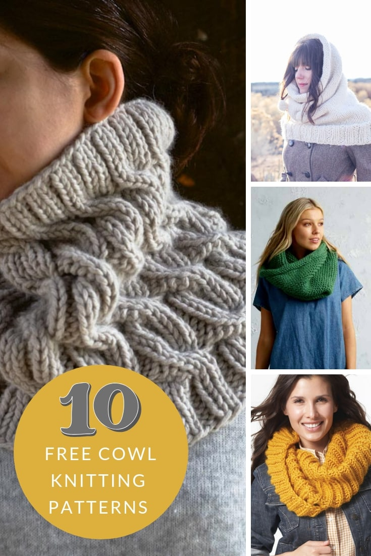 free cowl patterns